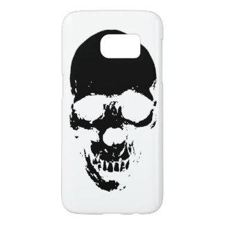 Black Grim Reaper Skull Samsung Galaxy S7 Case