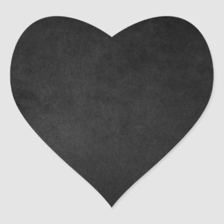 Black Grunge Emo Heart Stickers