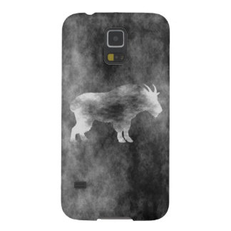 Black Grunge Goat Cases For Galaxy S5