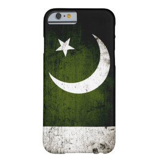 Black Grunge Pakistan Flag Barely There iPhone 6 Case