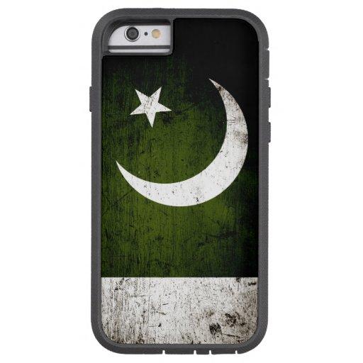 Black Grunge Pakistan Flag iPhone 6 Case