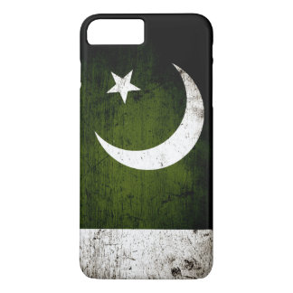 Black Grunge Pakistan Flag iPhone 7 Plus Case