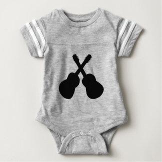 black guitars baby bodysuit