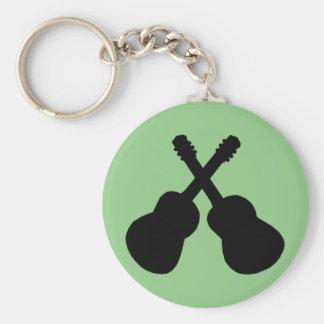 black guitars keychain