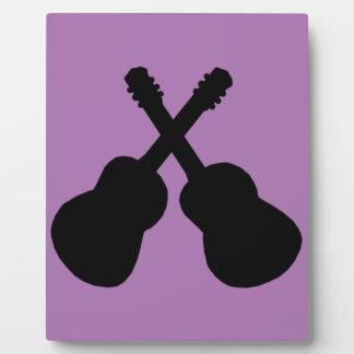 black guitars plaque