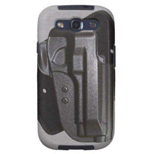 Black Gun / Firearm Holster Galaxy S3 Covers