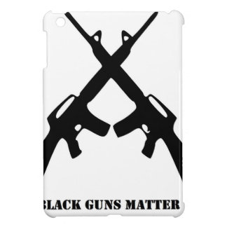 Black Guns Matter Case For The iPad Mini