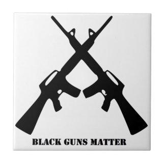 Black Guns Matter Tile