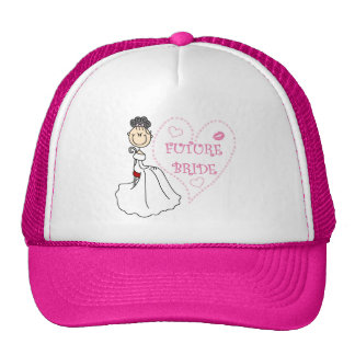 Black Hair Future Bride Tshirts and Gifts Trucker Hat
