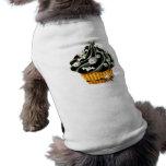 Black Halloween Cupcake Pet Tshirt