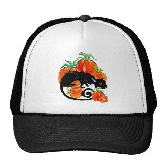 Black Halloween Kitty Hat