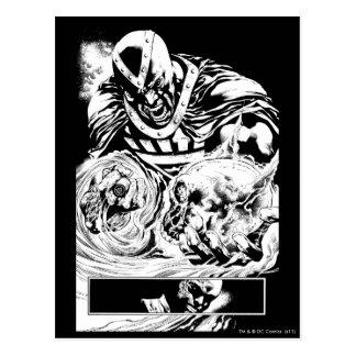 Black Hand with Skull Panel 2 Postcards