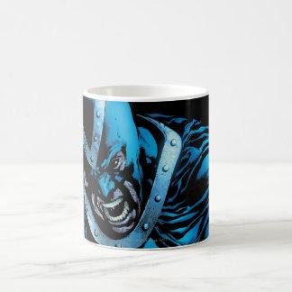 Black Hand with Skull Panel Basic White Mug