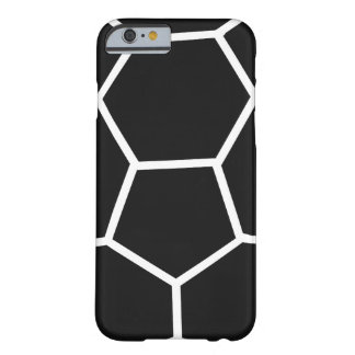 black handball icon barely there iPhone 6 case