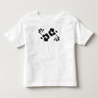 Black Handprints Toddler T-shirt