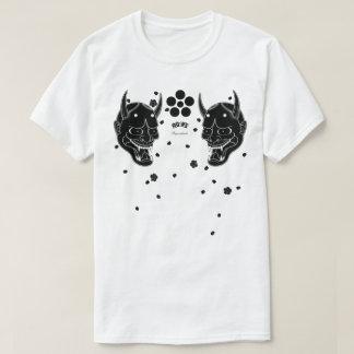 Black Hannya and Cherry Blossom T-Shirt