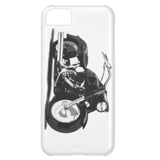 Black Harley motorcycle Cover For iPhone 5C