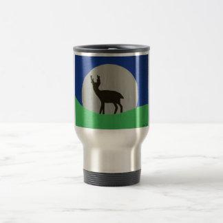 Black Hart Travel Mug