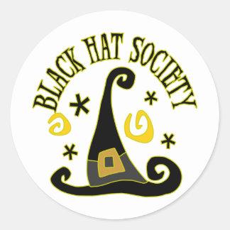 Black Hat Society Stickers/Envelope Seals