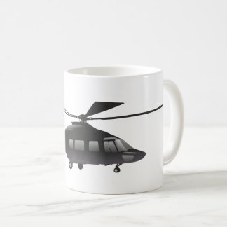 Black Helicopter Mug