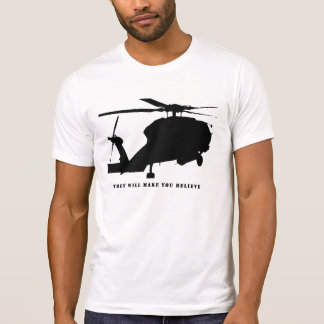 black helicopter T-Shirt