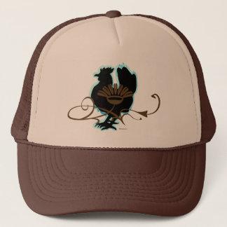 Black Hen Trucker Hat