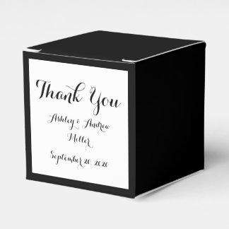 Black High End Colored Favor Box