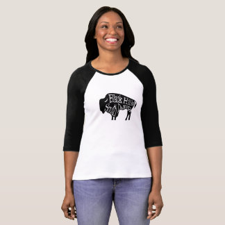Black Hills South Dakota Bison Buffalo T-Shirt