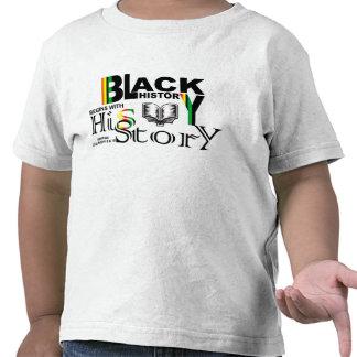 Black History-HiSStory Toddler T-shirt