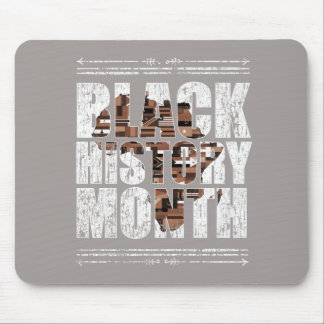 Black History Month African Roots. Mouse Pad