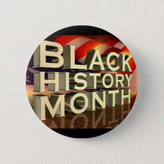 Black History Month Button