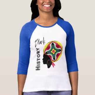 Black History Month Ethnic African Woman Graphc T-Shirt