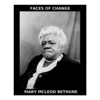 Black History Month Heroes - Mary McLeod Bethune Poster