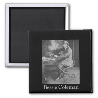 Black History | Picture of Bessie Coleman Magnet