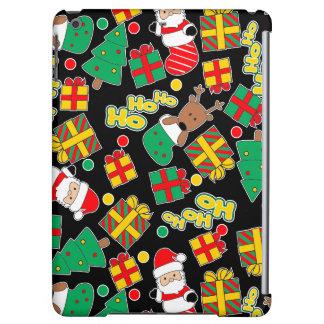 Black - Ho Ho Santa iPad Air Cover