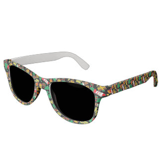 Black - Ho Ho Santa Sunglasses