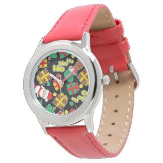 Black - Ho Ho Santa Watch