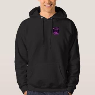 Black Hoddie - Winged Spade Sweatshirt