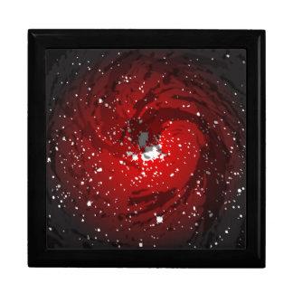 Black Hole Background Jewelry Boxes
