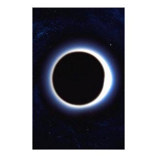 Black Hole Customized Stationery