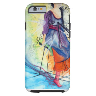 Black Hole (Daughter Of The Sun) Tough iPhone 6 Case