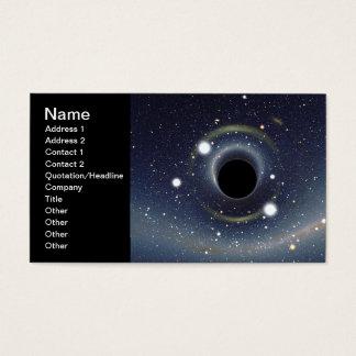 Black Hole Einstein Ring NASA Business Card