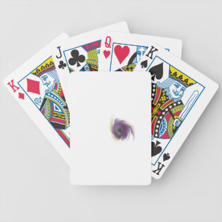 Black Hole Flower Bicycle Playing Cards