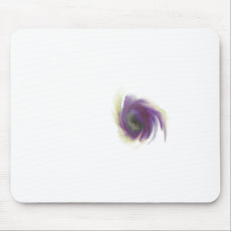 Black Hole Flower Mouse Pad
