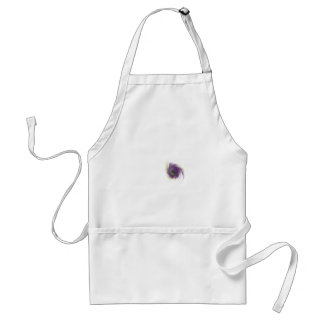 Black Hole Flower Standard Apron
