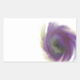 Black Hole Flower Sticker