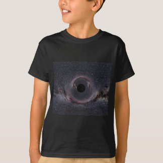 Black Hole Milky Way T-Shirt