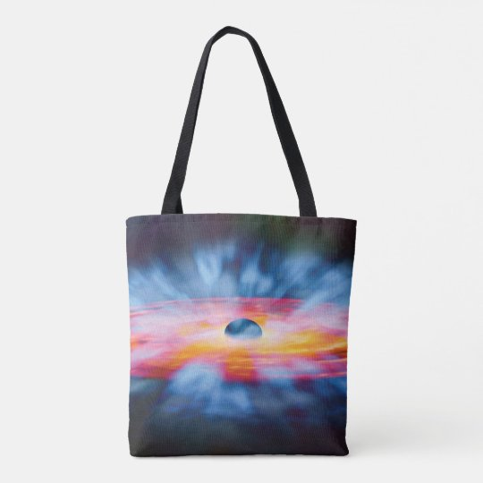 Black Hole Outflows Artist Concept Tote Bag