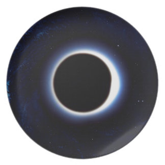 Black Hole Party Plate