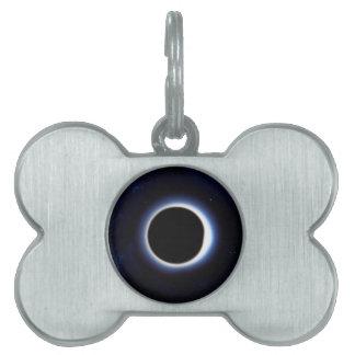 Black Hole Pet ID Tag